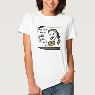 Retro Lola T-shirts and Gifts