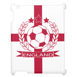 Retro look England English soccer design iPad Covers