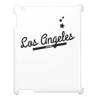 Retro Los Angeles Logo iPad Cover
