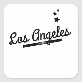 Retro Los Angeles Logo Stickers