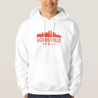 Retro Louisville Skyline Hoodie