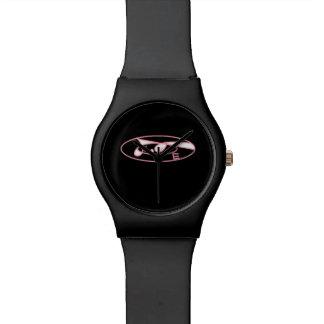 Retro love design black May 28th watch