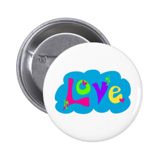 Retro Love Tees and Gifts Button