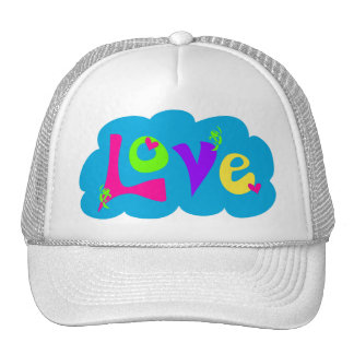 Retro Love Tees and Gifts Mesh Hat