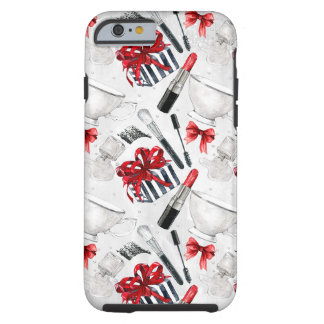 Retro Make Up Girly Trendy Colorful Tough iPhone 6 Case
