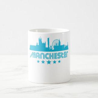 Retro Manchester Skyline Coffee Mug