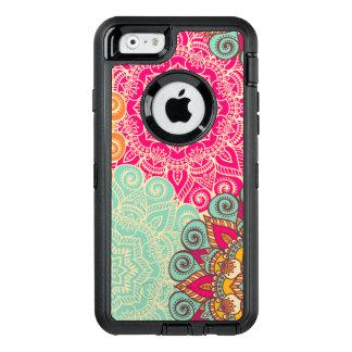 Retro Mandala iPhone Otterbox Case
