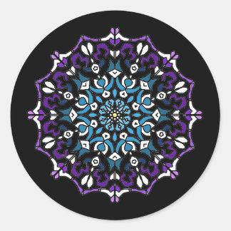Retro Mandala Sticker 1