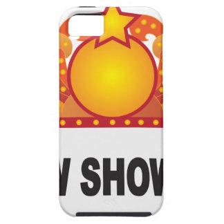 Retro Marquee Sign with Lights Illustration iPhone 5 Covers