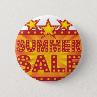 Retro Marquee Summer Sale Sign Illustration 6 Cm Round Badge