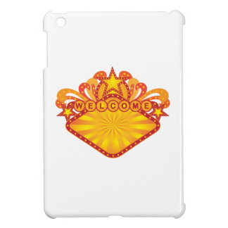 Retro Marquee Welcome Sign Illustration Case For The iPad Mini