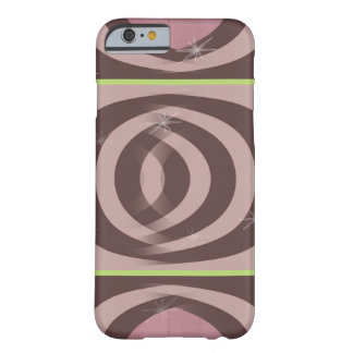 RETRO MAUVE PATTERN Case-Mate Barely There iPhone Barely There iPhone 6 Case