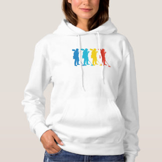 Retro Metal Detecting Pop Art Hoodie