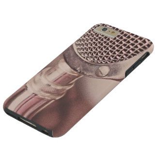 Retro Mic Tough iPhone 6 Plus Case
