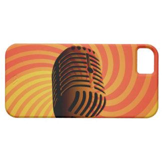 Retro Microphone custom iPhone case iPhone 5 Cover