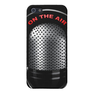 Retro Microphone iPhone 5 Case