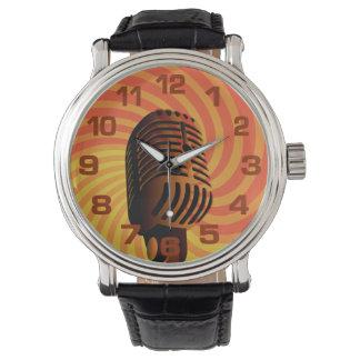 Retro Microphone watches