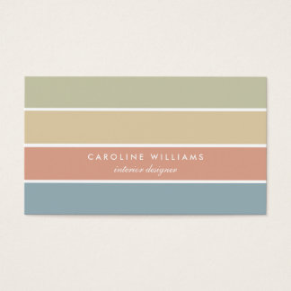 Retro minimal Scandinavian elegant orange card