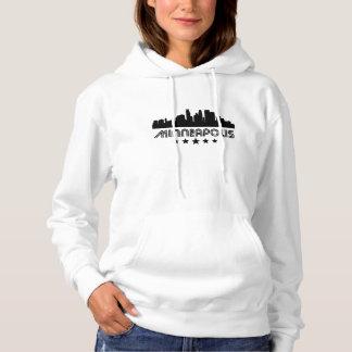 Retro Minneapolis Skyline Hoodie