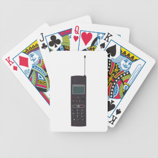 Retro Mobile phone Bicycle Poker Deck