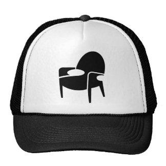 Retro Mod Office Chair Mesh Hat