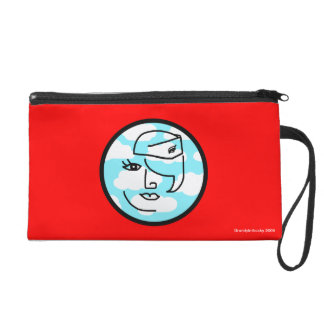 Retro Mod Stewardess Bag Wristlet Purses
