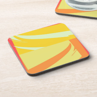 Retro Modern Abstract Art Drink Coasters