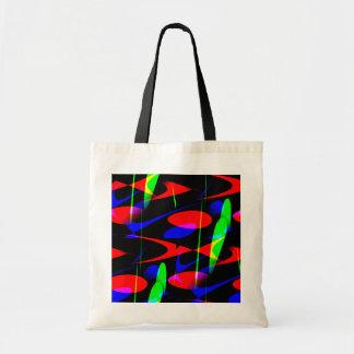 Retro Modern Abstract Canvas Bags