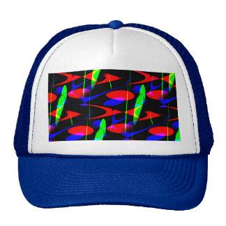 Retro Modern Abstract Mesh Hat