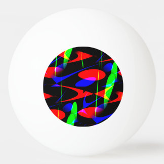 Retro Modern Abstract Ping Pong Ball