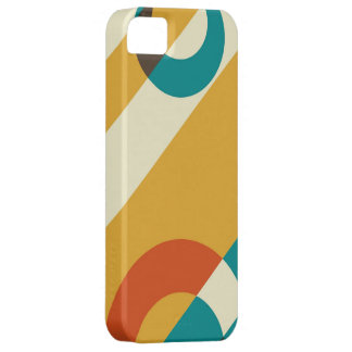 Retro Modern Colorful Fifties Graphic iPhone 5 Cover