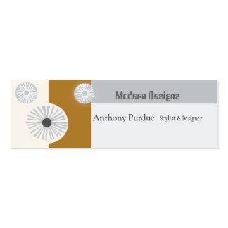 Retro Modern Mid-Century Business Cards