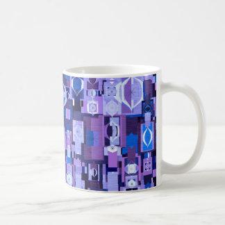 Retro Modern Ornament Pattern Mug