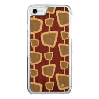 Retro Modern Pattern Monogram iPhone 8/7 Case