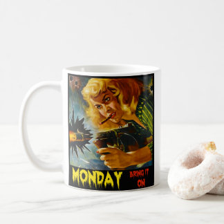 Retro Monday Coffee 2017 Coffee Mug