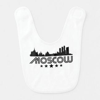 Retro Moscow Skyline Bib