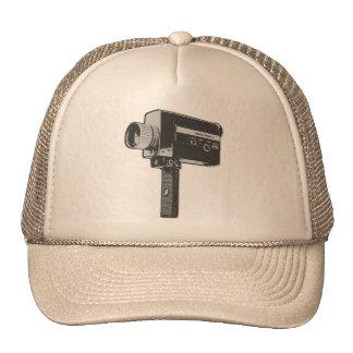 Retro Movie Camera Cap