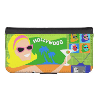 Retro Movie Star Smartphone Wallet Case