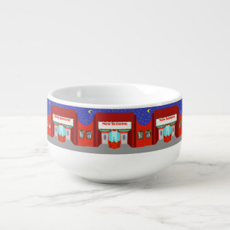 Retro Movie Theater Soup Mug