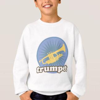 Retro Music Attitude Trumpet Gift Sweatshirt
