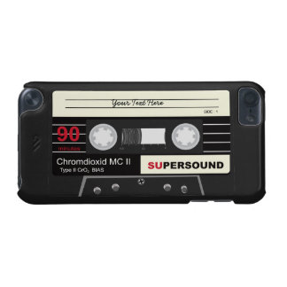Retro Music Audio Cassette Mix Tape iPod 5 Case