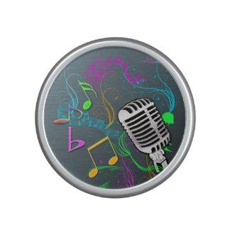 Retro Music Bumpster Speakers Bluetooth Speaker