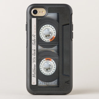 Retro Music Cassette Mix Tape Funny Look OtterBox Symmetry iPhone 8/7 Case