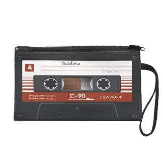 Retro Music Cassette MixTape Wristlet