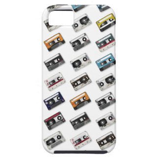 Retro Music Cassette Tapes iPhone 5 Cover