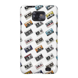Retro Music Cassette Tapes Samsung Galaxy SII Cases