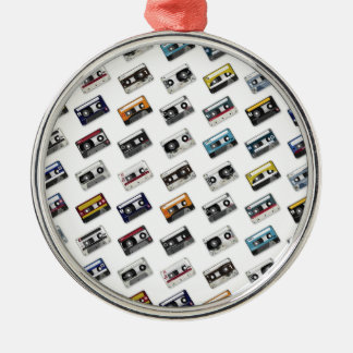 Retro Music Cassette Tapes Christmas Ornament