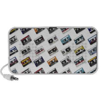 Retro Music Cassette Tapes Laptop Speaker
