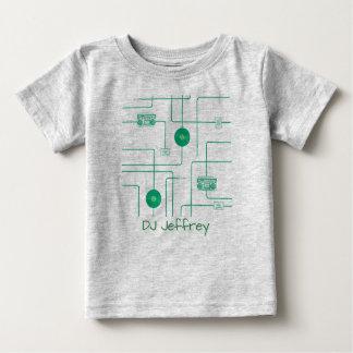 Retro Music Illustration Baby T-Shirt
