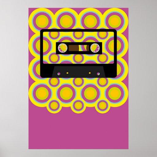 Retro Music Print